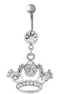 The Royal Crown Belly Button Ring: Earings Jewlary Piercings, Belly Piercings, Royal Crowns, Belly Button Rings, Button Wrings, Button Ringssssssss, Bellybutton Rings, Bellybutton Piercings