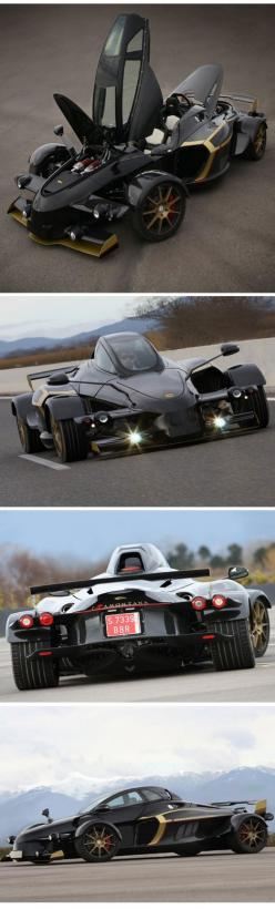 The Tramontana R is an evolved version of the standard open-wheel two-seater, packing a Mercedes-sourced 5.5-liter V12 available in either naturally aspirated, 550 hp guise or a twin-turbocharged 760 hp version that dolls out an astonishing 811 lb-ft of t