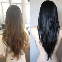 The V Shaped hair cut is perfect for all hair textures! Something edgier for my long, super thick hair.: V Haircut, Long Layered Hair Cut, Hair Texture, Hairstyle, V Cut, Long Textured Layer, V Hair Cut, Long Hair Cut