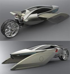 The YEE flying car concept (South China University of Technology): Flying Cars, Yee Flying, Futuristic Design, Motorcycle Flyingcar, Cars Motorcycles Trucks, Concept Cars, Technology Motorcycle, High Tech 360