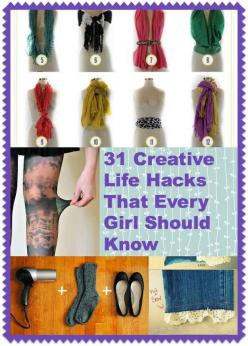 These are amazing I'm not even kidding I love these: Every Girl, Diy Shirt, Beauty Hacks, Creative Life, Girl Hacks, Creative Hacks, Lifehacks, Life Hacks
