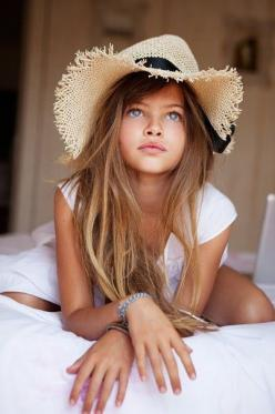This is a child model from France I believe, I can't recall her name, what a naturally pretty girl: Girls, Beautiful, Children, Kids, Photo, Hair, Has, Thylane Blondeau