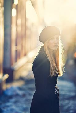 This is a nice beret too, even w/the acorn stem top...nice fit...not baggy.: Hats, Ideas, Fashion, Inspiration, Style, Light, Hair