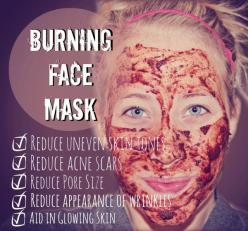 This mask made with nutmeg, cinnamon, lemons, and honey will help reduce acne scars and is a hormonal acne treatment. Great. Since I don't have any of those ingredients, I'll try it when I go home for Christmas.: Facemasks, Skin Care, Beauty Tips,