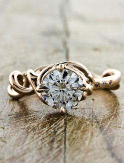 This site has some really beautiful and unique engagement rings.: Dream, Wedding Ideas, Unique Rings, Diamond, Engagementrings, Wedding Rings, Dana Design, Engagement Rings
