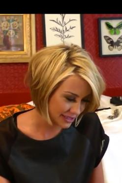 This will be good in between hair while mine is growing out: Short Hair, Haircuts, Chelsea Kane, Hairstyles, Hair Styles, Layered Bob, Hair Cut