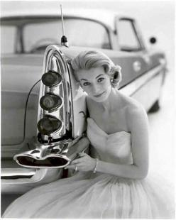 Those 50's cars My Dad & uncles all had them .. They were always shiny like mirrors! lol!: Girls, Classic Cars, 1950S, Vintage, 1950 S, Photo, Black