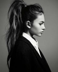 THYLANE BLONDEAUJALOUSE MAGAZINE: High Ponytails, Messy Ponytail, Hairstyles, Ponies, Hair Style, Beauty, Pony Tails, Hair Inspiration, Thylane Blondeau