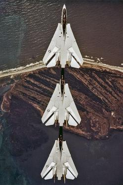 Tomcats in trail formation: Military Aircraft, Jet Aircraft, Airplane, Military Fighter, F14 Tomcat, F 14 Tomcats, Planes, Fighter Jets, Trail Formation