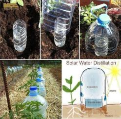 "Top 10 Awesome Ideas for your Garden - Grow vegetables with 10 times less water with ""Solar Drip Irrigation."": Garden Ideas, Solar Drip, Gardening, Gardens, Drip Irrigation, Diy, Solar Water, Water Distillation"