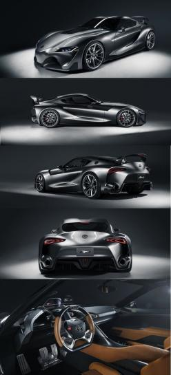 Toyota FT-1 Concept  | Whether you're interested in restoring an old classic car or you just need to get your family's reliable transportation looking good after an accident, B & B Collision Corp in Royal Oak, MI is the company for you! Call (248) 543