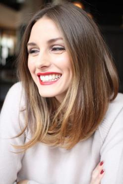Trendy Medium Hairstyles for Women (1): Hairstyles, Longbob, Hair Cut, Hair Style, Olivia Palermo, Haircut, Long Bobs, Beauty, Hair Color