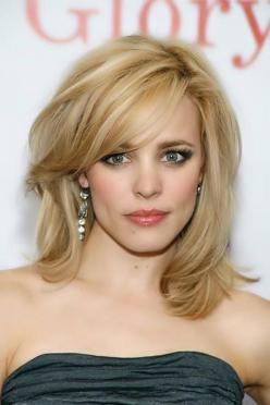 Trendy Medium Hairstyles for Women (3): Short, Haircuts, Medium Length Hairstyle, Medium Lengths, Layered Hairstyles, Hair Styles, Hair Cut, Medium Hairstyles, Rachel Mcadams