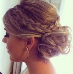 Updos with Braids - Prom Hairstyle 2015: Braided Updo, Wedding Hair, Updos, Homecoming Hairstyle, Hair Style, Updo With Braid