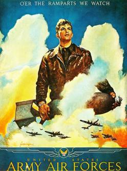 US Army Air Forces by Vintage Cool 2, via Flickr: World War, Airforce, War Poster, Wwii Poster, Army Air, War Ii, Posters, United States