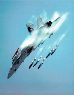 """US Navy - F-18 Super Hornet or the """"Bug""""...sick near vertical practice bombing run.: Aviation, Military Aircraft, Fa 18 Hornet, Air Force, Military Planes, Airplane, Machine, Photo, Fighter Jets"""