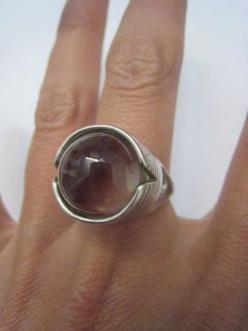 Vintage Sterling Silver Large Modernist Crystal by Glamaroni, $95.00: A Ring A Ding Ding, Accessories Silver, Silver Smycken, Sterling Silver, Jewelry, Vintage Sterling, 95 00, Silver Large