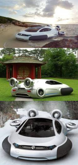 Volkswagen Aqua - #future: Stuff, Cars, Future Car, Hydrogen Fuel Cells, Move Seamlessly, Concept Cars, Vehicles