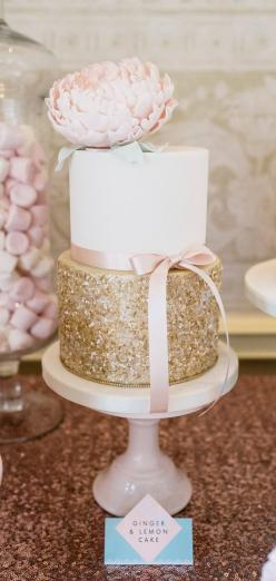 Wedding Cakes With Exceptional Details. To see more: http://www.modwedding.com/2014/06/20/wedding-cakes-exceptional-details/  #wedding #weddings #weddingcake Featured Wedding Cake: Cotton Crumbs: Shower Cake, Wedding Ideas, Wedding Cakes, Bridal Shower, G