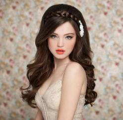 wedding hairstyles for long hair down: Hair Styles, Makeup, Bridal Hairstyles, Hair Bridalhairstyles, Wedding Hairstyles, Brides Hairstyles, Hairstyles For Long Hair