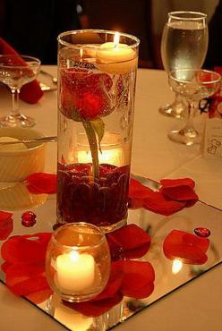"Wedding Ideas On A Budget | Related Posts for "" wedding centerpiece ideas on a budget "": Candle, Rose, Wedding Ideas, Weddings, Centerpieces, Weddingideas, Center Pieces"
