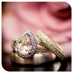 wedding ring wedding rings: Wedding Ideas, Weddings, Diamond, Wedding Band, Pear Shaped, Wedding Rings, Bride, Bling Bling, Engagement Rings