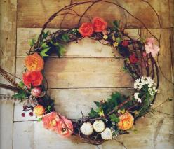 Wedding Wreaths Blog Post by Brisbane Wedding Weekly http://www.brisbaneweddingweekly.com.au: Wreath Idea, Spring Wreath, Fresh Flowers, Flower Wreaths, Pretty Flower, Summer Flower
