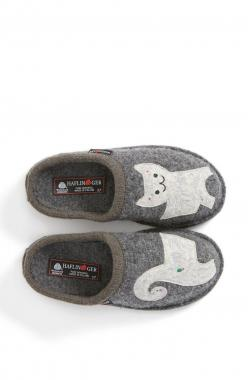 Winding down the weekend in this super cute cat slipper.: Kitty Cat, Cat Things, Cute Cats, Crazy Cat, Cat Slippers, Haflinger Cat, Cat Lady