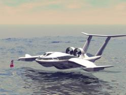 Wing in Ground Effect (WiGE) vehicle, with maritime deployment in mind (possible SOAR applications).: Aircraft Concept, Concept Planes, Future Concept, Concept Art, Sf Vehicles, Aviones De Toda Clases, Airplane Concept