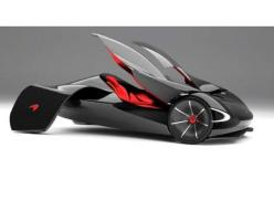 Winged Concept Cars - The McLaren JetSet Would Fly Through Traffic with its Streamlined Form: Conceptcars, Vehicle, Future Car, Auto, Concept Cars, Mclaren Jetset, Winged Concept