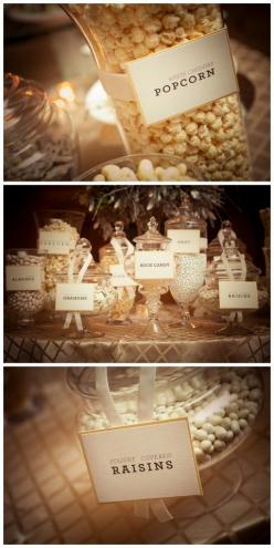 Winter wonderland wedding inspiration, White candy and treats.: Candy Buffet, Candy Bars, Candy Table, Wedding Ideas, Winter Wedding, Winter Wonderland, New Years