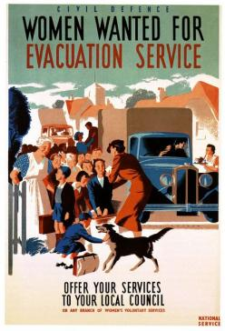 Women wanted for evacuation service. Recruitment poster, WWII: Propaganda Posters, Evacuation Service, 1940S, Women Wanted, Wwii Posters, War Ii, Ww Ii, Ww2 Posters