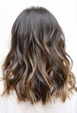 Wouldn't want the highlights to be so ombre, but otherwise this is what I'm aiming for in hair color: Hair Colors, Hairstyles, Medium Length, Hair Styles, Haircolor, Hair Cut, Haircut, Long Bob, Hair Length