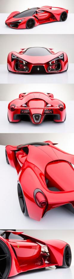 WOW! Ferrari F80 Concept: Cool Car, Supercar, Ferrari, Concept Vehicle