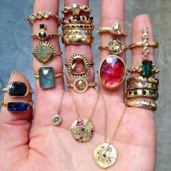 Yes to all of them!                                                               (12) Tumblr: Fashion, Style, Jewellery, Polly Wales, Rings, Jewelry, Jewels, Accessories