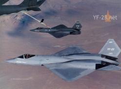 YF-23 Black Widow Flight Refueling: Car, Military Aircraft, Air Force, Airplane