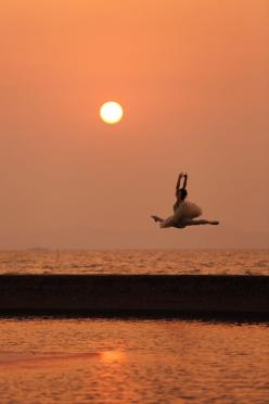You can't make me feel stupid. You can't tell me I'm worthless. I am the only person who can do that, and I no longer give myself permission.: Dance Photography, Picture, Dancers, Sunset, Beautiful, Ballet, Ballerina, Dance 3