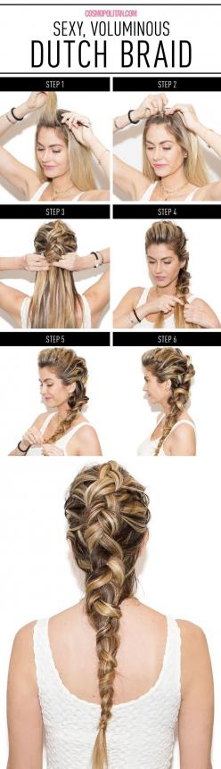 Your New Favorite Braid Will Make You Look So Hot / Cosmopolitan: French Braids, Hairstyles, Favorite Braid, Hair Styles, Dutch Braids, Elsa Braid