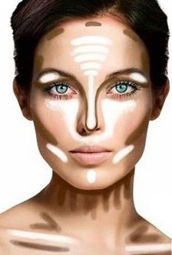 10 Genius Tricks to Try from Pinterest | Beauty Blitz: Face, Contours, Make Up, Beauty Tips, Style, Makeup Tips, Hair, Contouring
