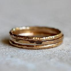 14k gold stacking rings - praxis jewelry: Bags Clothes Shoes Jewelry, Jewelry Such, Gold Stacking, 14K Gold, Jewelry Accessories, Stacking Rings