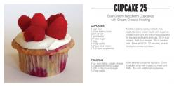 33 Cupcake Recipes, Oh Ming, You Are Genius! | Totally Love It: Sour Cream, Cupcake Recipes, Raspberry Cupcakes, Food, 33 Cupcake, Raspberries, Cream Cheeses, Cream Cheese Frosting