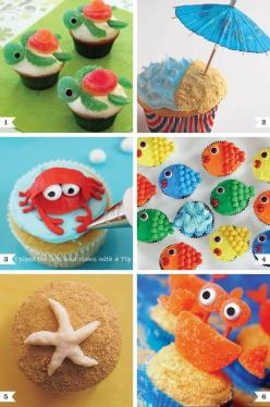 849e5f60367603742d0e9df981332895.jpg 584×880 pixels: Decorating Ideas, Sea Cupcakes, Sea Party, Cupcakes Decorating, Under The Sea, Cupcake Idea, Party Ideas, Birthday Party