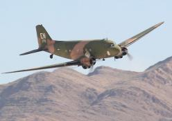 """AC-47 gunship, commonly referred to as """"Spooky"""" or """"Puff the Magic Dragon"""", is very familiar to people who know about the Vietnam conflict.   Basically a world war two vintage C-47 Skytrain transport armed with 3 miniguns, these gunships c"""