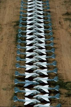 Aircraft graveyard at Davis-Monthan Air Force Base, near Tucson, Arizona: Military Aircraft, Air Force, A6 Intruders, Airplane, Aircraft Graveyard, Graveyards