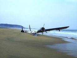 Aircraft on the beach: Photos, Flight, Aviation, Beaches, Airplane, Aircraft, Drug Plane, Planes, Abandoned Aircraft