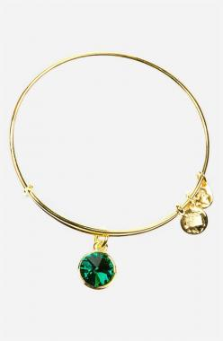 Alex and Ani Birthstone bangle. May = Emerald. I'm absolutely obsessed with this bracelet!! Thanks to my best friend le ♡ love you!!: Birthstone Expandable, Ani Birthstone, Birthstone Bangle, Alex And Ani, Bangles, Alexandani, Alex O'Loughlin
