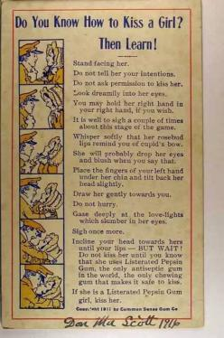 ...and about the time he starts sighing and talking about lips he gets neck punched and monkey stomped!!!: Kiss, Girls, Listerated Pepsin, Stuff, Funny, Things, 1911