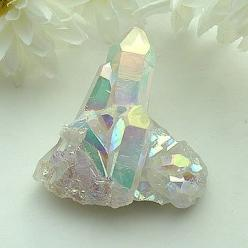"Angel Aura Quartz Point Cluster ~ ""Stone of attunement to beauty"" See metaphysical & healing properties here: http://www.shimmerlings.com/gemstones/aqua_aura.htm: Crystals Gemstones Rocks, Rocks Gems, Gem Stones, Auras, Quartz Crystal, Gemston"