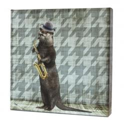 Animal Band: Oliver Otter Print: Lew Animal, Otter Opolis, Otters, Otter Print, Animal Band, Animal Prints, Products, Oliver Otter