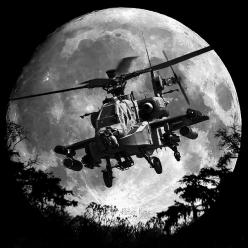 Apache Moon by P. Keur Then....there's jack!: Military Aircraft, Aerospace Helicopters, Apache Moon, Aircraft Nose, Ah 64 Apache, Rotor Aircraft, Aircraft Space, Photo, Apache Helicopters